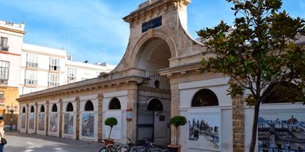 Exterio Mercado Central de Abastos de Cádiz