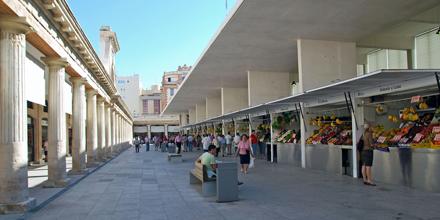 Interior Mercado Central de Abasto de Cádiz