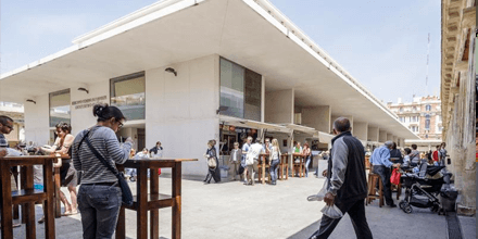 Interior Mercado Central de Abastos de Cádiz