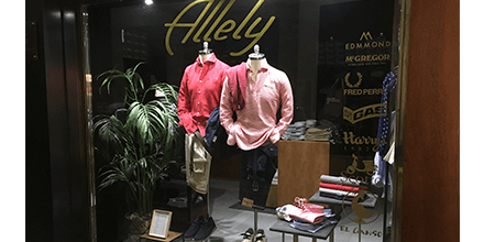 Escaparate Allely Boutique
