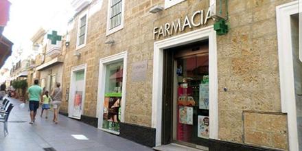 Exterior Farmacia San Francisco Cádiz