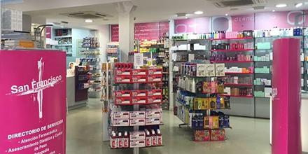Interior Farmacia San Francisco Cádiz
