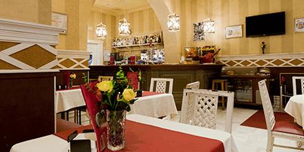 Salón comedor del Hotel las Cortes de Cádiz
