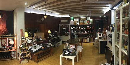 Interior Baco Vinos Cádiz