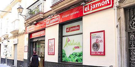 Exterior Supermercados El Jamón de la Calle Enrique de las Marinas 11