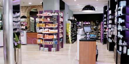 Interior Farmacia Central