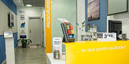 Recepción Microaudio Cádiz