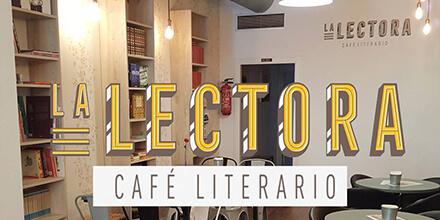 Interior LA LECTORA CAFÉ LITERARIO