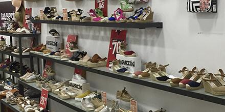 Interior La Martín zapatos