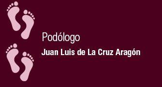 PODÓLOGO JUAN LUIS DE LA CRUZ