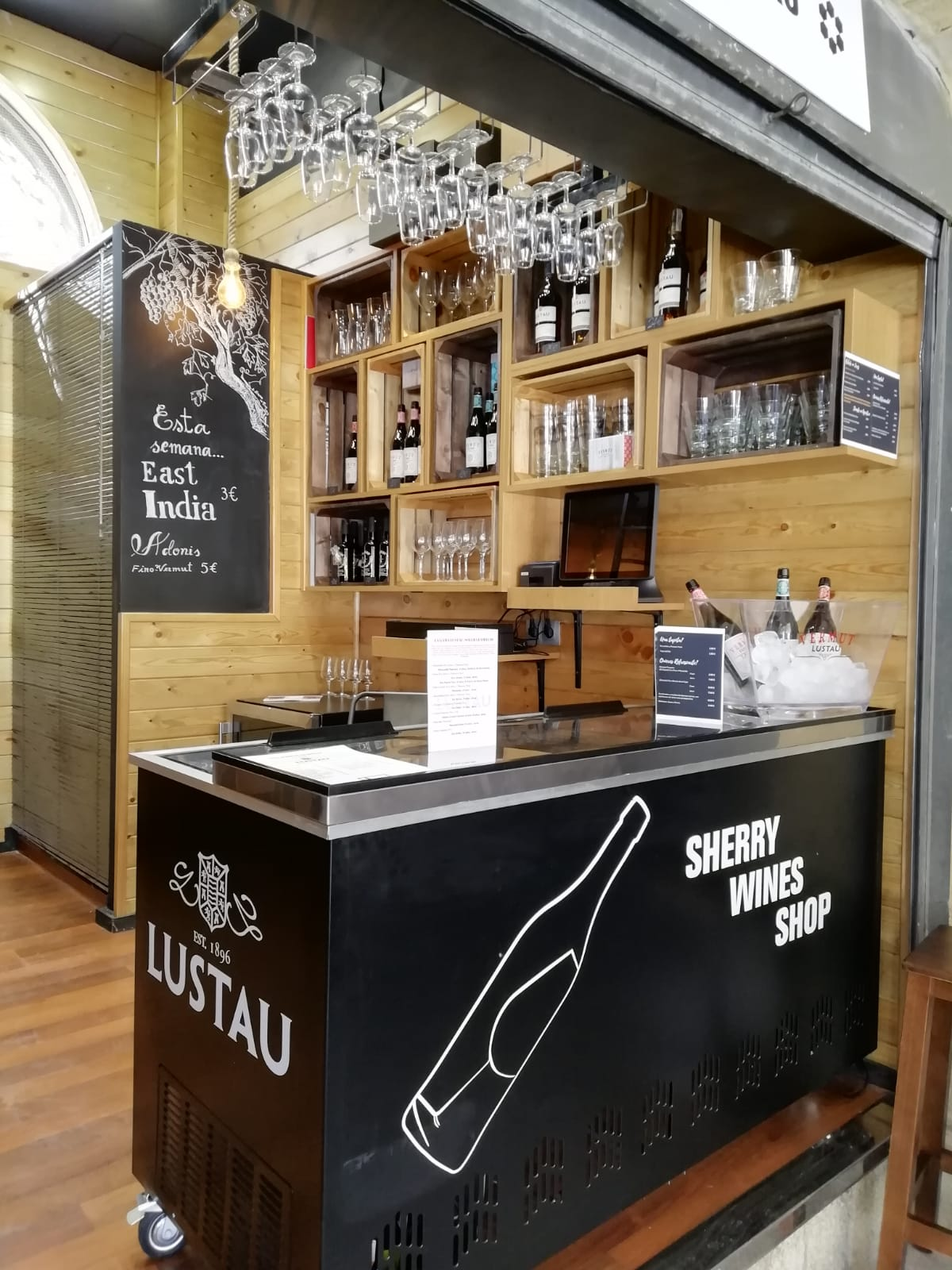 Interior Sherry Wines Shop
