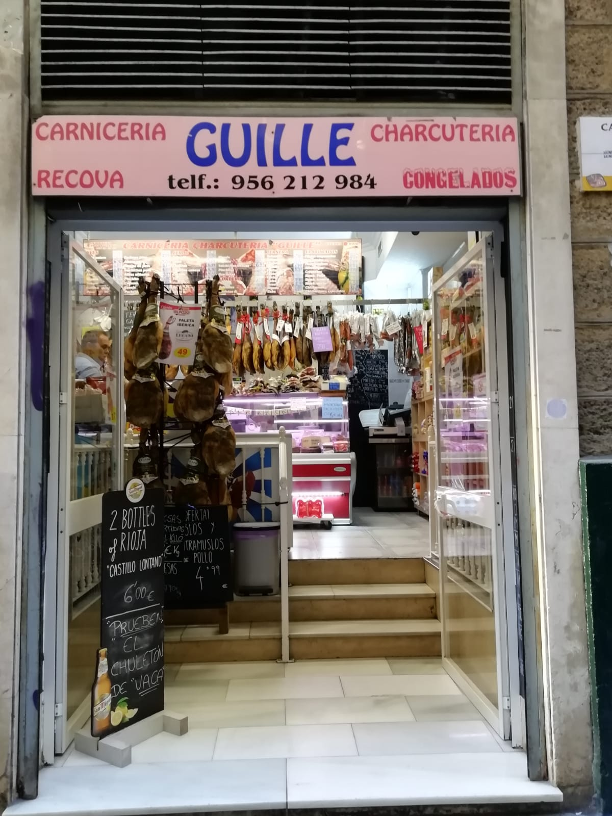 Exterior Carniceria Guille