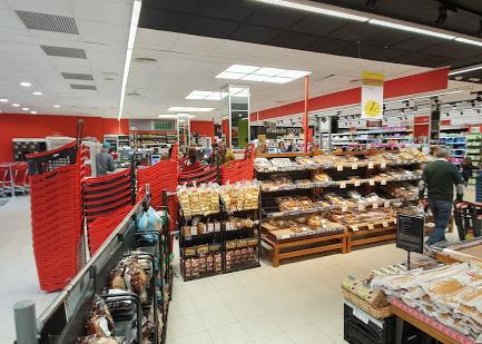 Interior Carrfour Market Cádiz