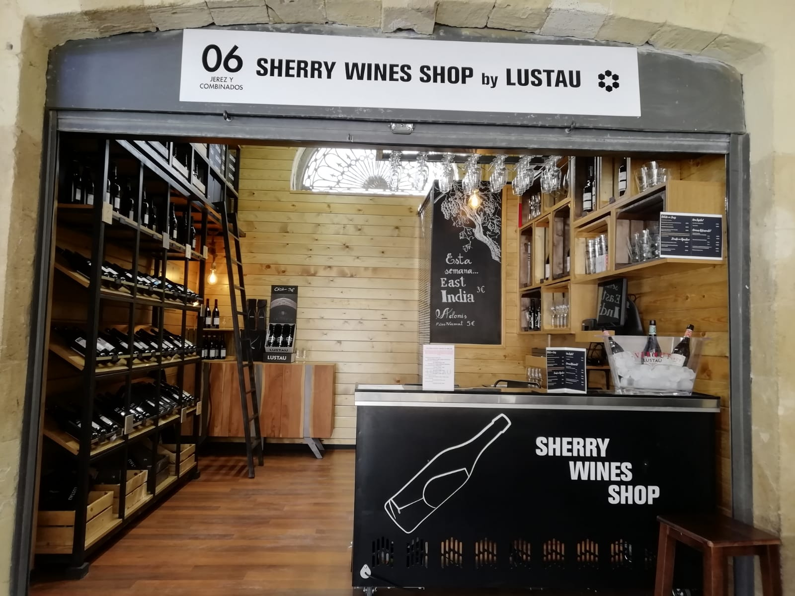 Exterior Sherry Wines Shop