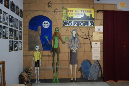 Interior Casa del Terror y lo Fantástico Cádiz Oculto